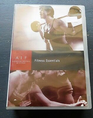 FITNESS ESSENTIALS from Australian Institute of Fitness 9 DVD set. AIF
