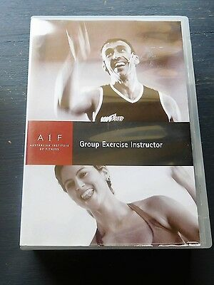 GROUP EXERCISE INSTRUCTOR from Australian Institute of Fitness 10 DVD set. AIF