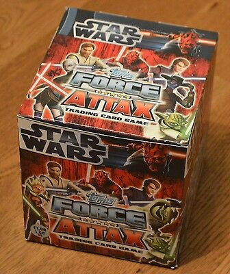 Force Attax Clone Wars Series 3 1x Display 100 Booster - 500 Cards OVP Star Wars