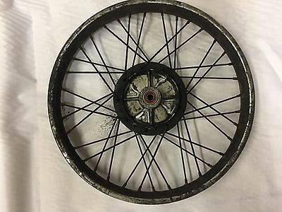 Honda Anf125 Innova Wave Rear Wheel Good Usable Order Needs Cleaned Only £22.50
