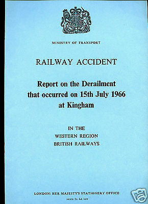 HMSO Railway Accident Report KINGHAM 15th July 1966