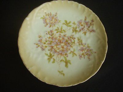 "Vintage 8"" Decorative Plate -Attractive Floral Pattern"