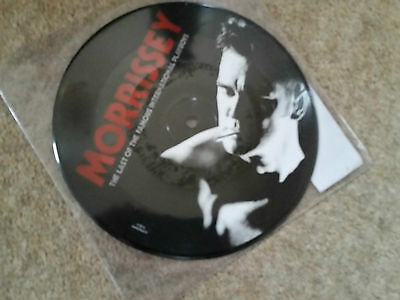 """Morrissey 7"""" Picture Disc Last of the Famous International Playboys"""
