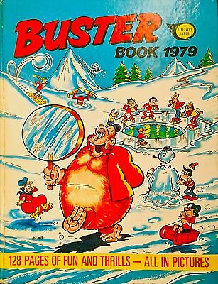 BUSTER Book 1979 - Faceache - Galaxus - Kid Kong - Rent-A-Ghost