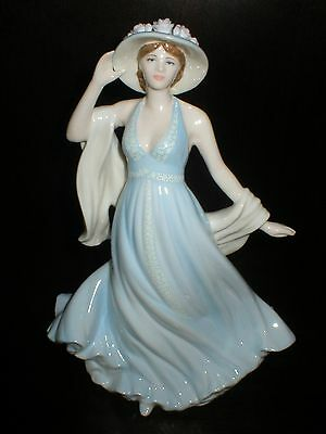 Coalport Isabel Figure Of The Year 2008 Figurine Compton & Woodhouse Cw828