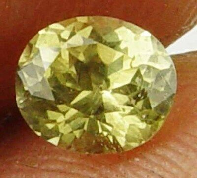 Natural Chrysoberyl 0.60Cts Well Cut Oval Great Yellow Fire Loose Gem 11052157