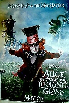 Alice Through The Looking Glass Movie Poster  Double Sided Poster