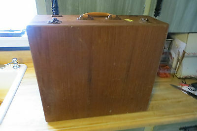 old James Quality Jewellery salesman 3 tier slide out drawer display carry case