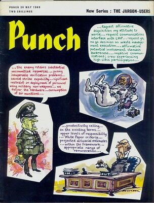 PUNCH Magazine, May 28th 1969. GC. Free UK Postage. Ref 3583