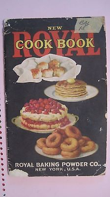 1920  Royal Cook Book by Royal Baking Powder Co.  softcover book