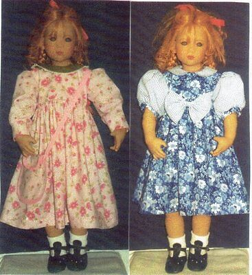 """Basic pretty  Dress outfit SEWING PATTERN FITS  26"""" Himstedt dolls"""