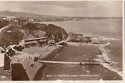 Ireland  Co Wicklow  Bray From The Swimming Pool  Rp