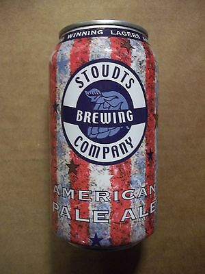 12 oz. Stoudts American Pale Ale Micro Beer Can  Stoudts Brewing  Adamstown, PA.