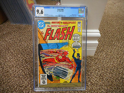 Flash 298 cgc 9.6 1st appearance of new Shade 1981 DC movie TV Firestorm WHITE p