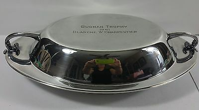 Vintage REED&BARTON Silver Plate Covered Warming Serving Dish Bowl With Lid B...