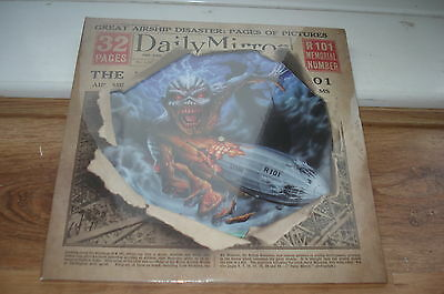 Iron Maiden Empire Of The Clouds PICTURE DISC MINT SEALED UNPLAYED 2016 12""