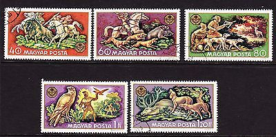 Hungary 1971 - Hunting Issues  CTO