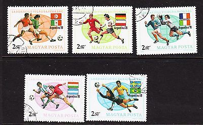 Hungary 1978 - World Cup Football Issues  CTO