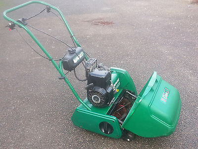 QUALCAST CLASSIC 35s PETROL LAWNMOWER SELFPROPELLED SERVICED