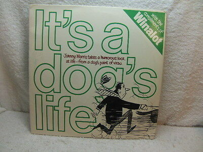 """Spillers - Winalot - Johnny Morris  - It's a Dog's Life 1972 7""""  PS + Letter"""