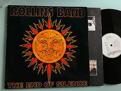 2 LP 1992  Rollins Band – The End Of Silence (Henry Rollins)