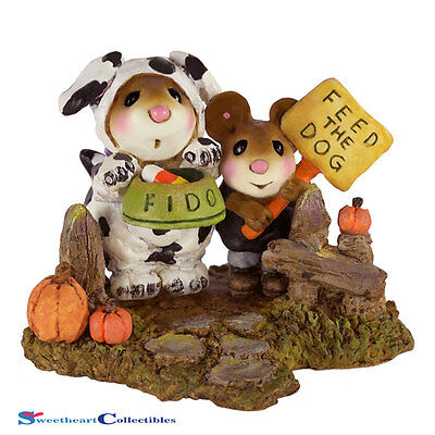 Wee Forest Folk 2016 Halloween Begging for Treats M-591