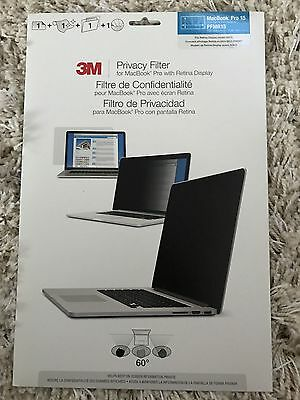 "3M Genuine Privacy Screen Protectors Filter for Apple MacBook Pro 15"" Retina"