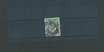 Northern Rhodesia 1938 Used KGVI sg 41 2s 6d Black/Green