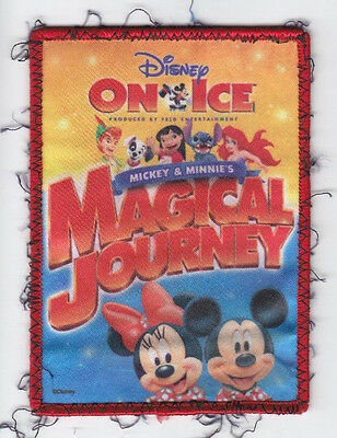 Disney on Ice Mickey & Minnie's Journey~Girl Scouts Fun Badge Patch~Lot 20160626
