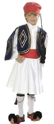Greek Traditional Costume TSOLIAS 6-12 years old MARK562 Evzon Evzonas Greece