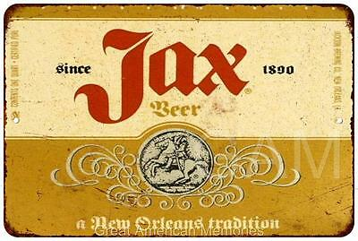JAX Beer Vintage Look Reproduction 8x12 Metal Sign 8120635