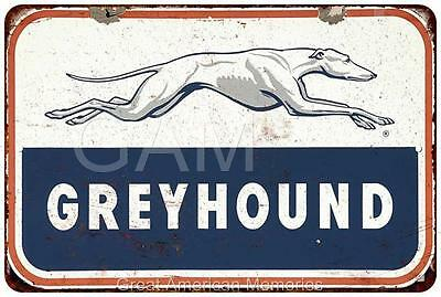 Gryhound Vintage Look Reproduction 8x12 Metal Signs 8121033