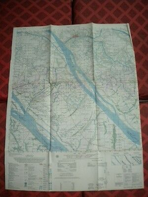 TRUC GIANG Ben Tre PBR Had to destroy village to save it..  Vietnam map 6229 II