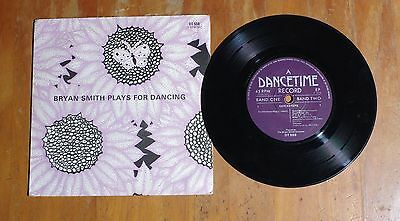 "'Quicksteps and Rumba' BRYAN SMITH 7"" 7 inch vinyl EP Dancetime DT 558"