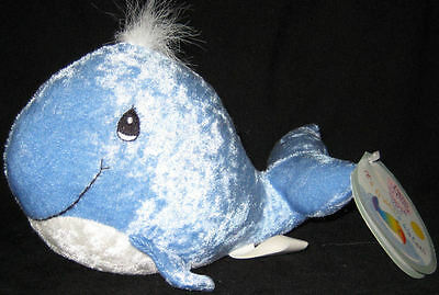 * Precious Moments Tender Tails Blue Whale w/tag