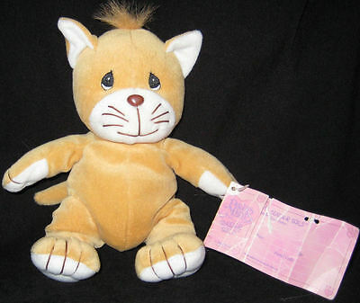 * Precious Moments Tender Tails Gold Cat w/tag