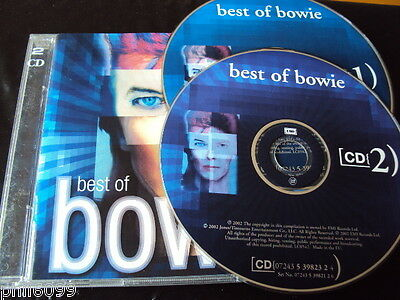 David Bowie - Best Of (2002) 2-Cd: Greatest Hits Singles Very Nr Mint