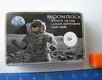 Boxed Lunar  Meteorite Set - A Real Piece Of The Moon!