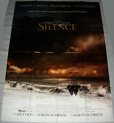 SiLENCE Martin Scorsese Andrew Garfield Jesuits Liam Neeson LARGE French POSTER