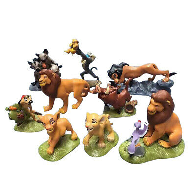Lion King 2019 Movie High Detail 9 PCS Figures Set Cake Toppers Party Gift Toys