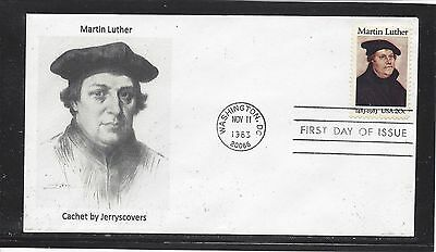 Martin Luther Fdc 1983 Washington, Dc Only One Made