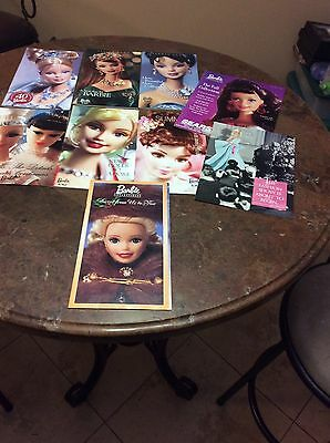Barbie Collector Catalogs Magazines SET OF 9 1996-2002 VERY Good Condition!!