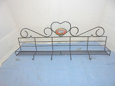23-1/2 inch metal wire rack watkins heritage collection kitchen spice display
