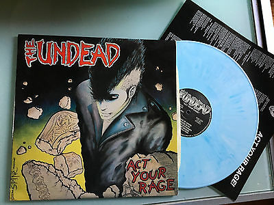 LP White & Blue USA The Undead – Act Your Rage!  Misfits Samhain Danzig