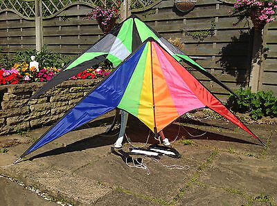 Diamond Rainbow Delta Power Stunt KITE for Kids and Big Kits **DISCOUNTED**