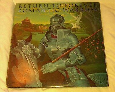 The Romantic Warrior - Return To Forever Lp S81221 Cbs 1978 Vg+!