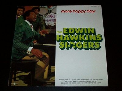 The Edwin Hawkins Singers - More Happy Days - LP [EX]