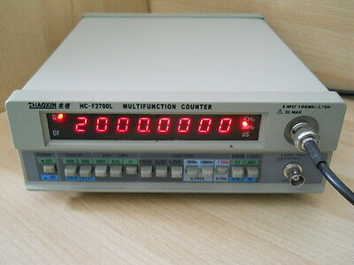 New 2.7Ghz High  Benchtop Frequency Counter,period,counts Measurement, Ham Radio