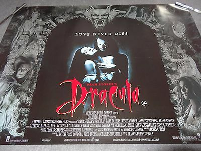 Bram Stoker's Dracula Francis Ford Coppola Horror Original UK Quad Film Poster