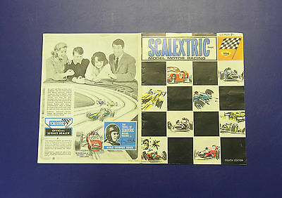 Vintage SCALEXTRIC Model Motor Racing Eighth (8th) Edition Catalogue 1967